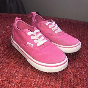 Kids Vans Canvas Shoes